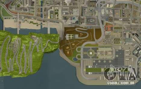 Stelvio Pass Drift Track para GTA San Andreas por diante tela