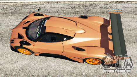 GTA 5 Pagani Zonda R v0.9 voltar vista