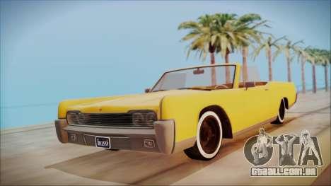 GTA 5 Vapid Chino Bobble Version para GTA San Andreas