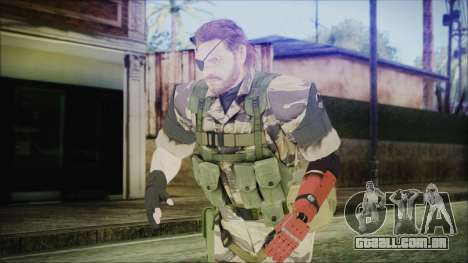 MGSV Phantom Pain Snake Normal Tiger para GTA San Andreas