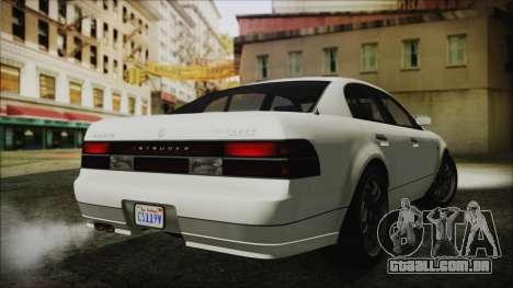 GTA 5 Karin Intruder IVF para GTA San Andreas esquerda vista