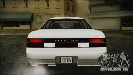 GTA 5 Karin Intruder IVF para GTA San Andreas vista traseira
