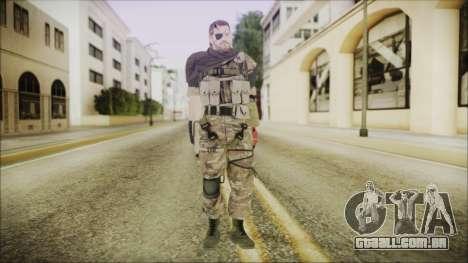 MGSV Phantom Pain Snake Scarf Wetwork para GTA San Andreas segunda tela