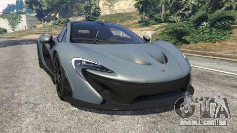McLaren P1 2014 v1.5 para GTA 5