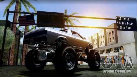 GTA 5 Cheval Marshall para GTA San Andreas traseira esquerda vista