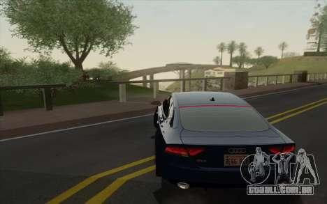 Amazing Graphics para GTA San Andreas segunda tela