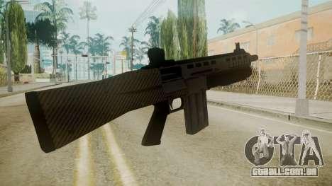 GTA 5 Combat Shotgun para GTA San Andreas terceira tela