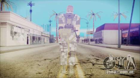 MGSV Phantom Pain Snake Normal Square para GTA San Andreas terceira tela