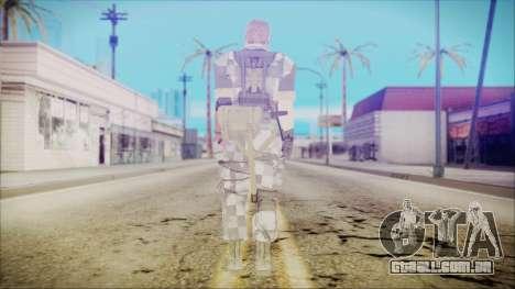 MGSV Phantom Pain Snake Normal Square para GTA San Andreas terceira tela