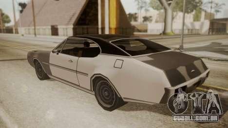Clover FnF Skin para GTA San Andreas vista traseira