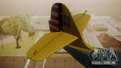 Grumman G-21 Goose N130FB para GTA San Andreas traseira esquerda vista
