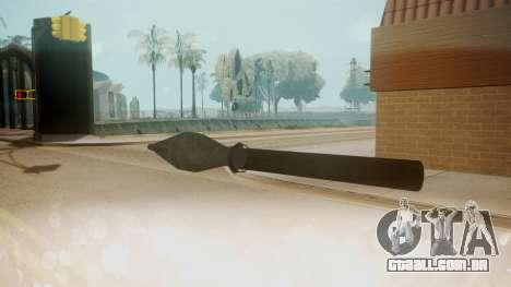 GTA 5 Missile para GTA San Andreas segunda tela