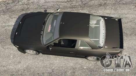 GTA 5 Nissan Silvia S13 v1.2 [without livery] voltar vista