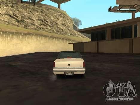 Chrysler New Yorker 1988 para GTA San Andreas vista direita