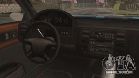 GTA 5 Albany Washington para GTA San Andreas vista traseira