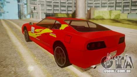 Jester FnF Skins 1 para GTA San Andreas vista superior