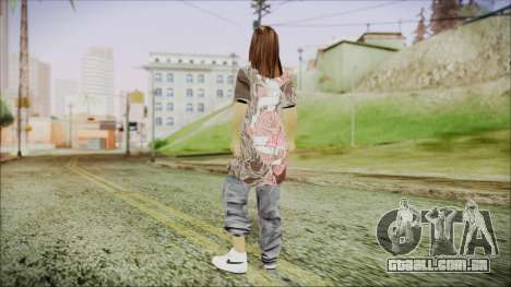Home Girl Chola 3 para GTA San Andreas terceira tela