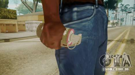 GTA 5 Tear Gas para GTA San Andreas terceira tela