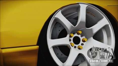 Nissan Onevia Type-X para GTA San Andreas traseira esquerda vista