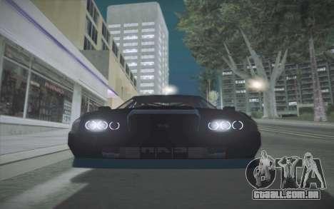 Elegy DRIFT KING GT-1 (Stok wheels) para GTA San Andreas traseira esquerda vista