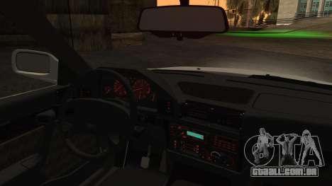 BMW 7-er E32 Stock para GTA San Andreas traseira esquerda vista