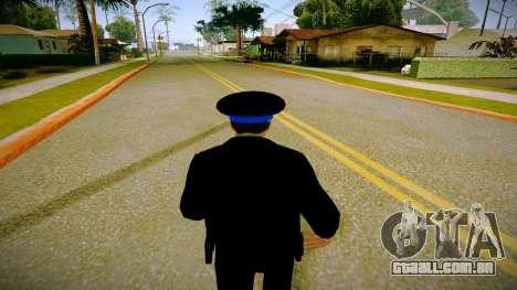 O funcionário do Ministério da Justiça v3 para GTA San Andreas por diante tela