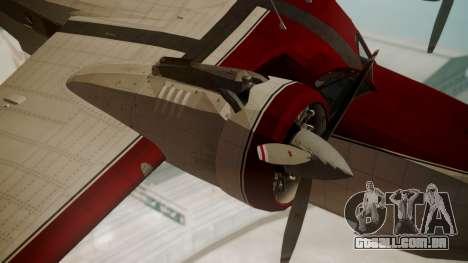 Grumman G-21 Goose VHIRM para GTA San Andreas vista direita