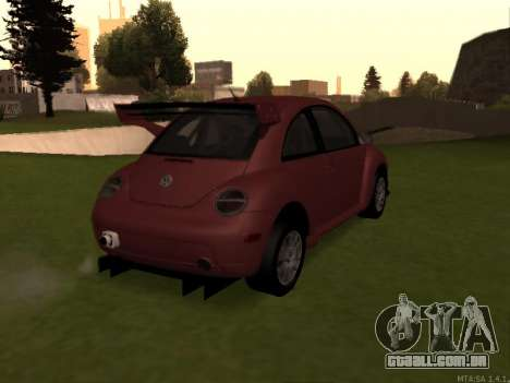VW New Beetle 2004 Tunable para GTA San Andreas vista direita