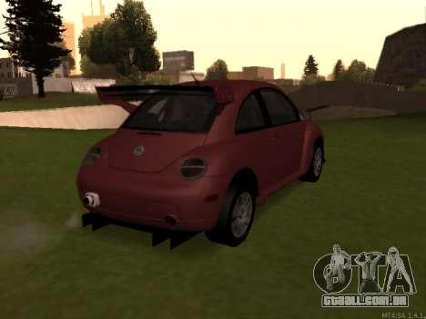 VW New Beetle 2004 Tunable para GTA San Andreas vista direita