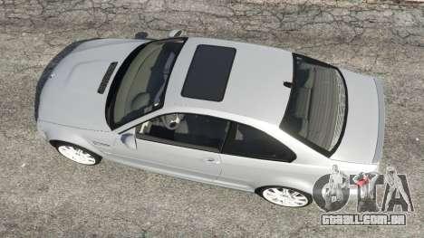 GTA 5 BMW M3 (E46) voltar vista