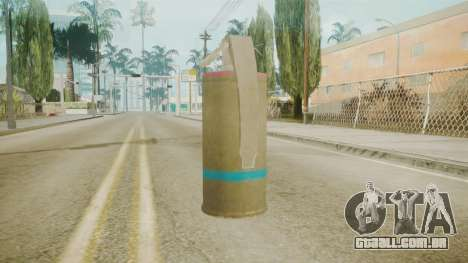 GTA 5 Tear Gas para GTA San Andreas segunda tela