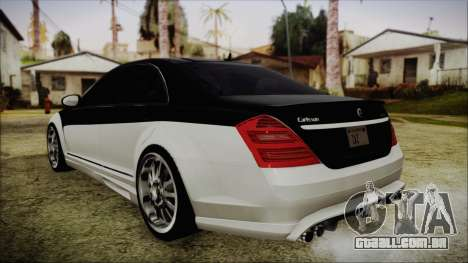 Carlsson Aigner CK65 RS v2 Headlights para GTA San Andreas esquerda vista