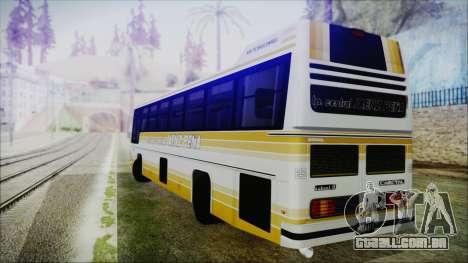 Scania Cametal Nahuel II para GTA San Andreas esquerda vista