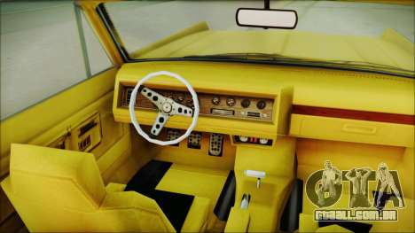 GTA 5 Vapid Chino Bobble Version para GTA San Andreas vista direita