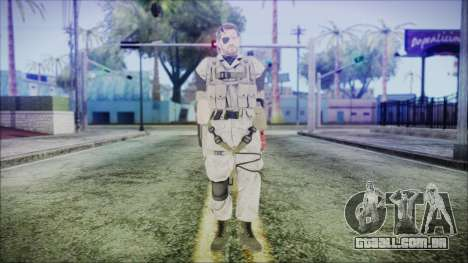 MGSV Phantom Pain Snake Normal Desert para GTA San Andreas segunda tela