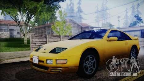 Nissan Fairlady Z Twinturbo 1993 para GTA San Andreas traseira esquerda vista