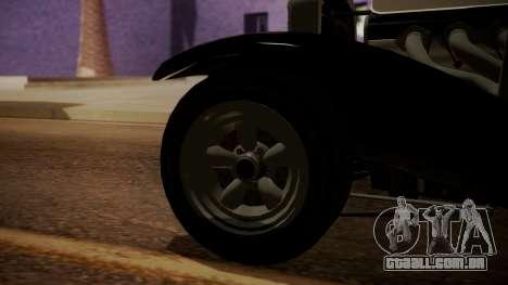 GTA 5 Albany Franken Stange IVF para GTA San Andreas traseira esquerda vista