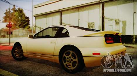 Nissan Fairlady Z Twinturbo 1993 para GTA San Andreas esquerda vista