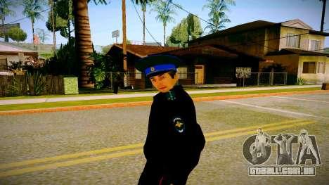O funcionário do Ministério da Justiça v3 para GTA San Andreas segunda tela