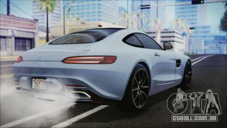 Mercedes-Benz AMG GT 2016 para GTA San Andreas esquerda vista