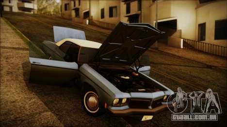 Oldsmobile Delta 88 1973 Final para GTA San Andreas vista direita