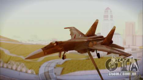 SU-27 Flanker A Philippine Air Force para GTA San Andreas