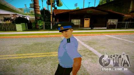 O funcionário do Ministério da Justiça v2 para GTA San Andreas segunda tela