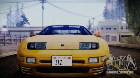 Nissan Fairlady Z Twinturbo 1993 para GTA San Andreas vista direita