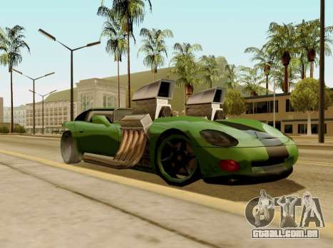 Banshee Twin Mill III Hot Wheels para GTA San Andreas