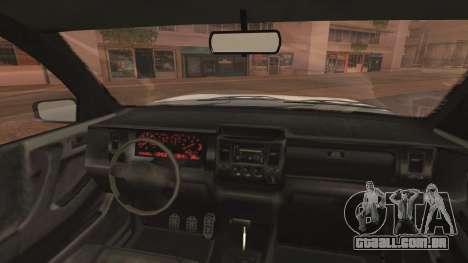 GTA 5 Declasse Granger Civilian IVF para GTA San Andreas vista direita