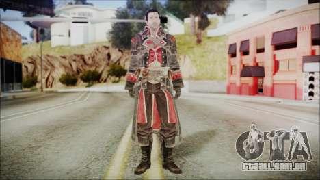 Shay Patrick Cormac - Assassins Creed Rogue para GTA San Andreas segunda tela