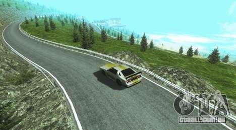 Stelvio Pass Drift Track para GTA San Andreas segunda tela