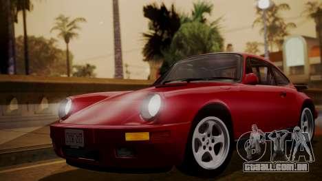 FRU FRU RUF Ctr yellowbird (911) 1987 АПП FIV para GTA San Andreas traseira esquerda vista