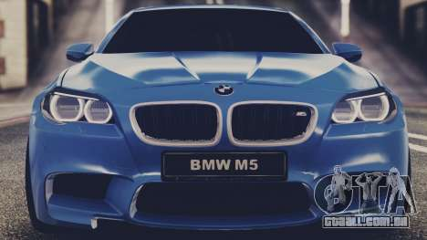 BMW M5 F10 Stock Single para GTA San Andreas